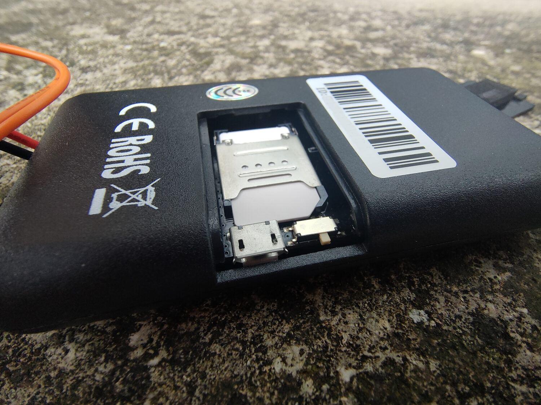 GeoRide - Emplacement SIM