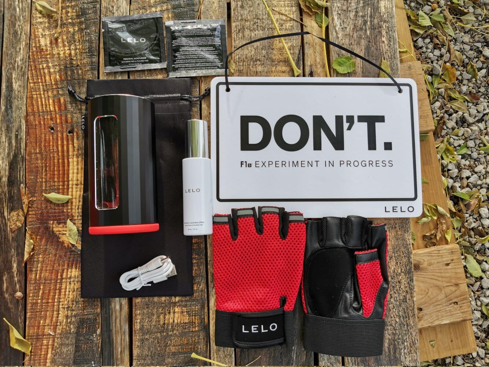 Lelo F1s Developer's Kit Red