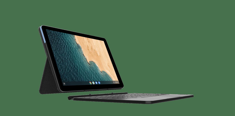 Chromebook Lenovo IdeaPad Duet écran et clavier