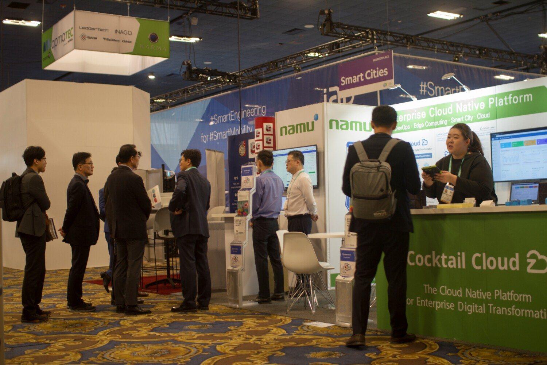 CES 2020 namutech cloud computing
