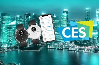Bannière Withings ScanWatch CES2020
