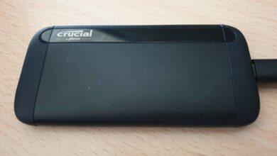 Photo of TEST – Crucial X8 (1to) – Le SSD externe, proche de la perfection