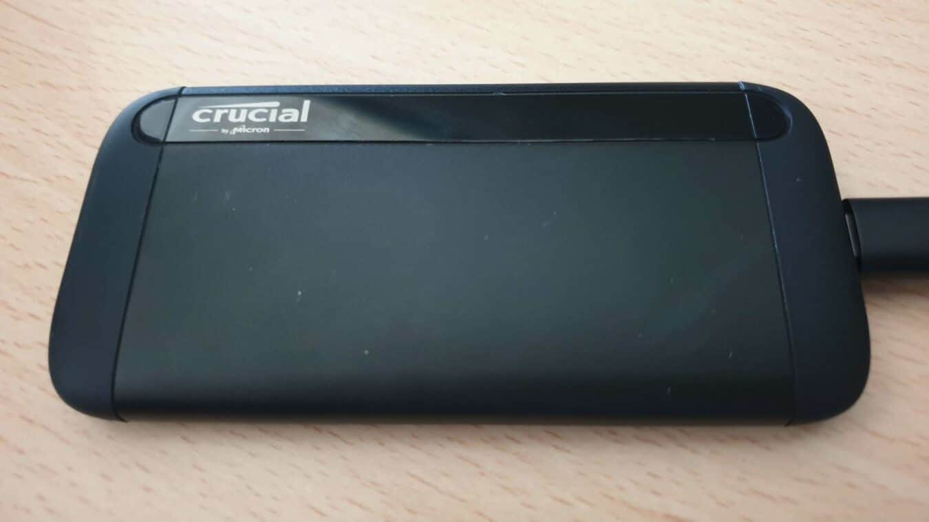 Photo de TEST – Crucial X8 (1to) – Le SSD externe, proche de la perfection