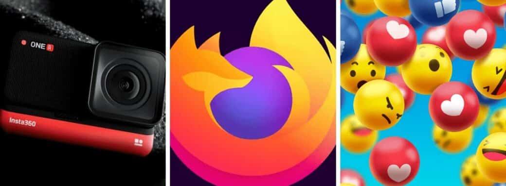 facebook change design firefox 72 insta360 one r