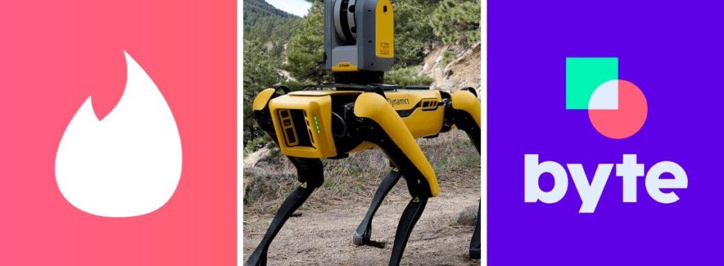 tinder securise rencontres bine byte tiktok application robot chien boston dynamics
