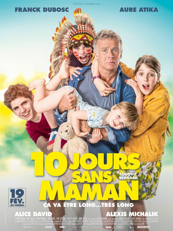 Affiche du film 10 jours sans maman
