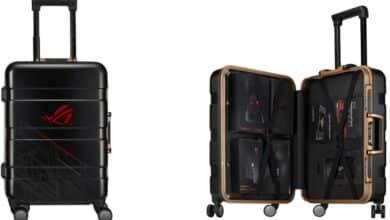 Photo de Asus ROG phone 2, une valise spéciale pleine d'accessoires !
