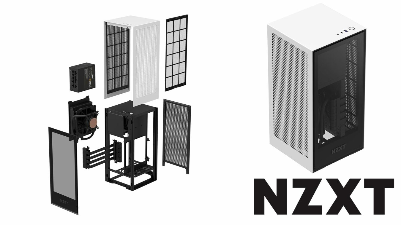 Photo of NZXT H1 – Le boitier mini-ITX qui voit grand