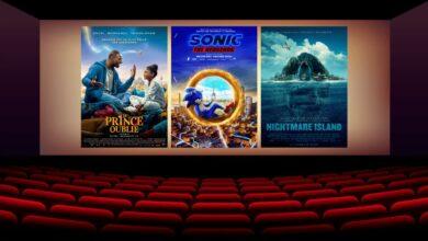 Sonic le film Le Prince Oublie Nightmare Island cinema