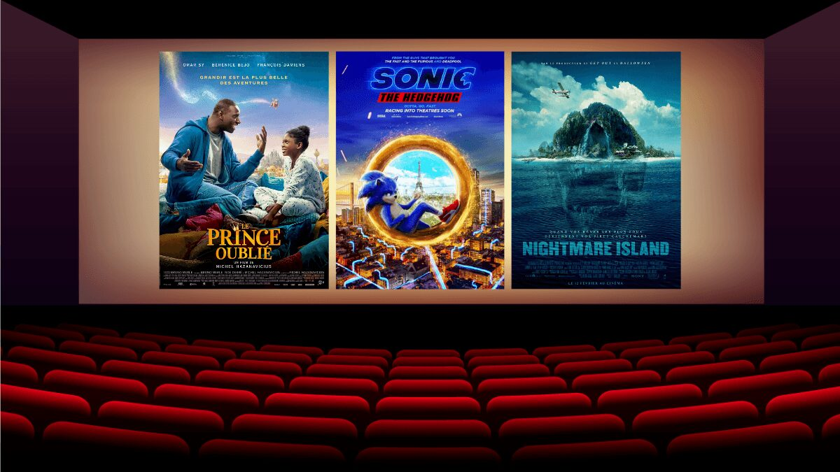 Sonic le film Le Prince Oublie Nightmare Island cinema