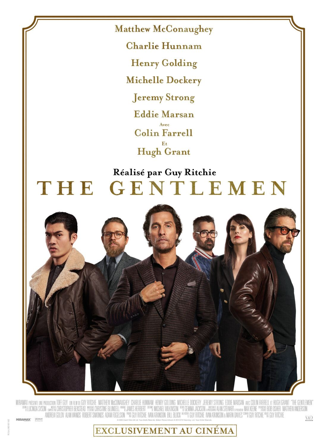Affiche du film The Gentlemen