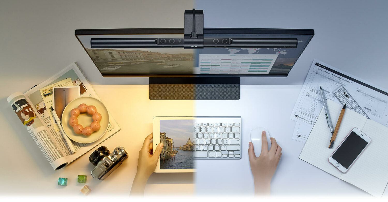 screenbar-température de la couleur ajustable
