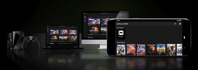 nvidia geforce now plateforme pc mac android tv peripherique