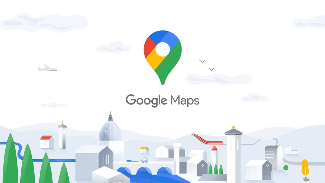 google maps nouvelle application interface logo