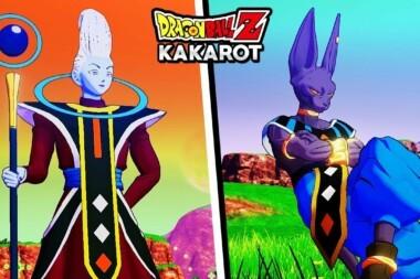 Beerus et Whis Dragon Ball Z Kakarot