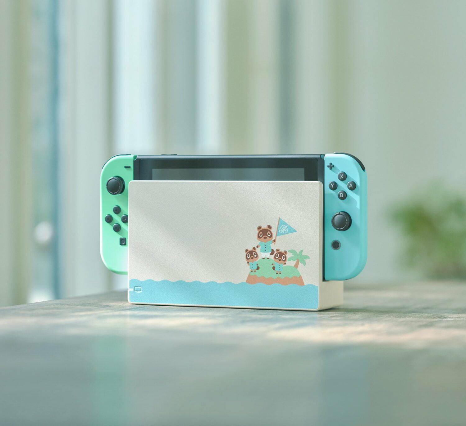 nintendo switch animal crossing new horizons console