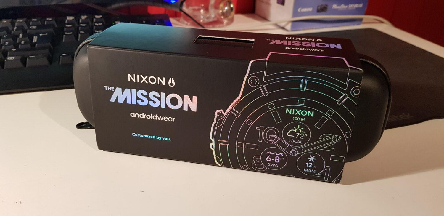 Nixon Mission - Packaging