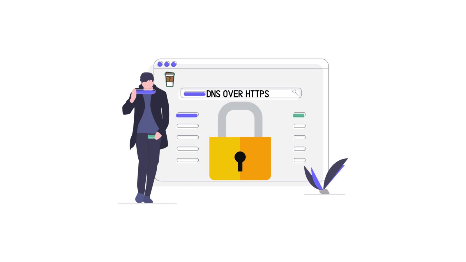 Bannière DNS over HTTPS