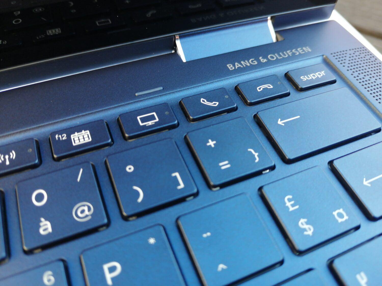 HP Elite Dragonfly  - touches de fonctions
