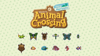 animal crossing new horizons insectes et poissons d'avril