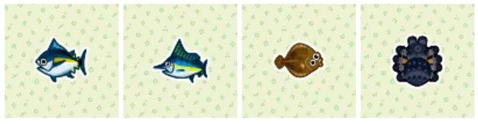 animal-crossing-new-horizons-thon-marlin-bleu-limande-tarentule