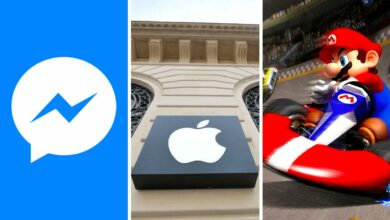 facebook messenger apple amende mario kart tour multijoueur