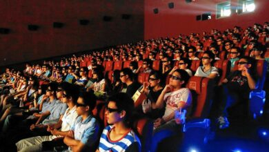 Salle de cinéma en Chine