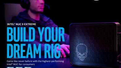 Photo of Annonce du Intel NUC Ghost Canyon : Un concentré d'efficacité