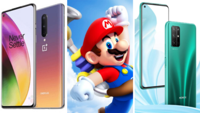 oneplus 8 mario nintendo switch honor 30s