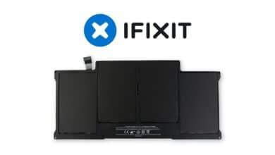 remplacer batterie macbook air ifixit