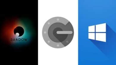 shadow app store ios Google Authenticator faille tuiles windows