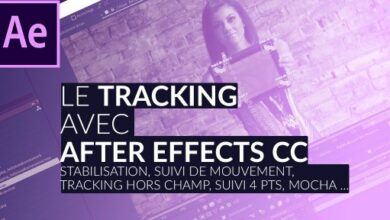 tuto tracking After Effects CC