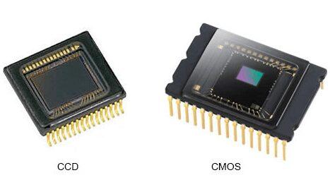 Différents capteurs - Capteur CCD et CMOS