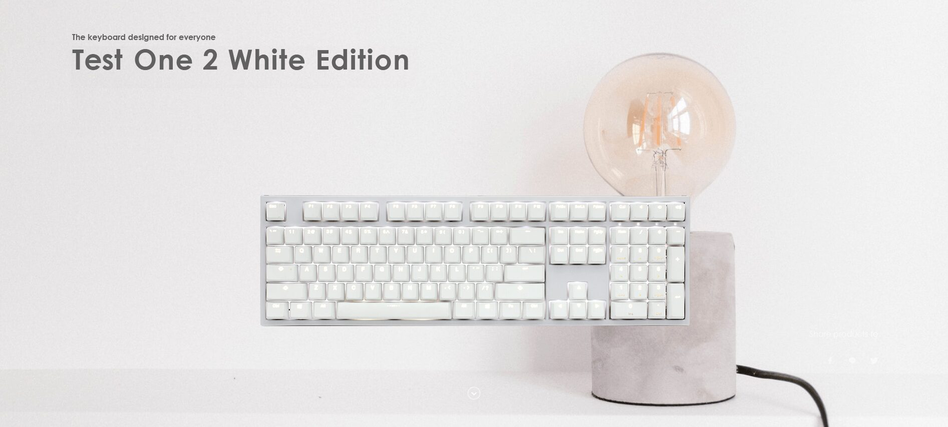 Ducky One 2 White Edition