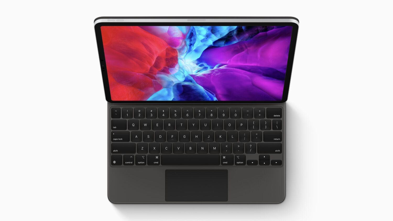 Magic Keyboard Apple iPad Pro dessus