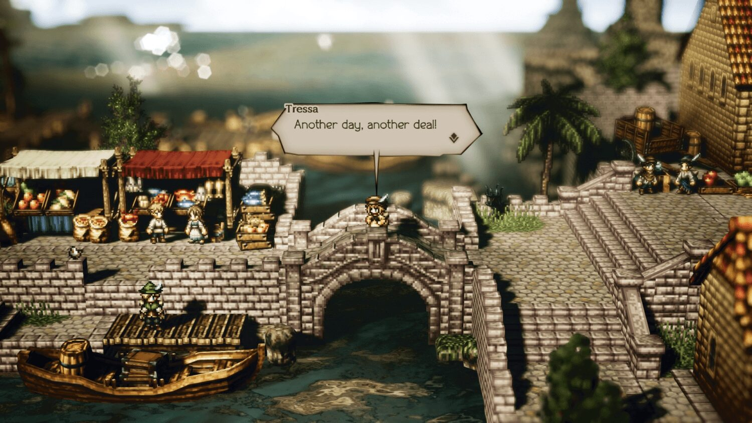 Octopath Traveler Stadia Connect