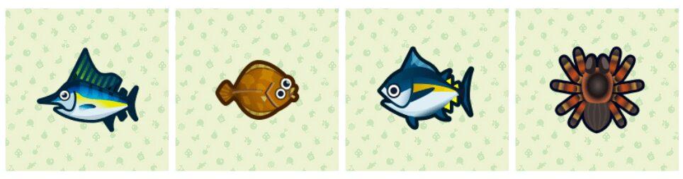 animal-crossing-new-horizons-thon-marlin-bleu-limande-tarentule-avril