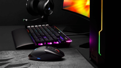 Photo de Corsair Dark Core RGB PRO : la performance sans fil