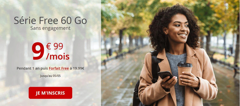 forfait mobile free 60 go