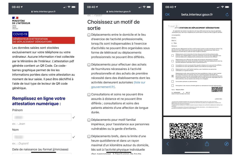 formulaire-en-ligne-attestation-deplacement-smartphone