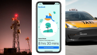 free mobile 5G facebook mode silencieux tesla taxi