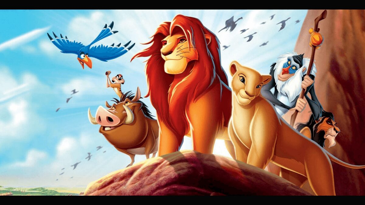 le roi lion disney plus dessin anime