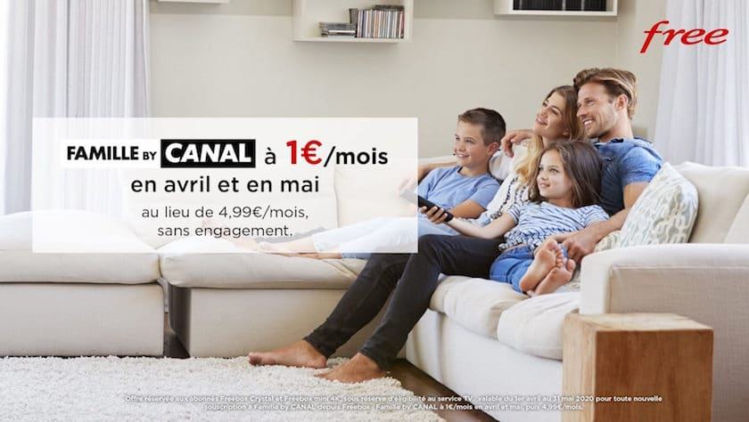 pack-famille-canal-1-euro-par-mois-free