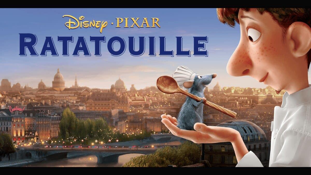 ratatouille dessin anime pixar