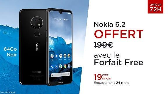 smartphone-nokia-6.2-gratuit-forfait-mobile-100-go-free-vente-privee