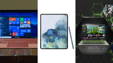 Photo de Nvidia GeForce Now perd des jeux, Samsung Galaxy Fold 2 et Surface Go 2 – La Pause Café