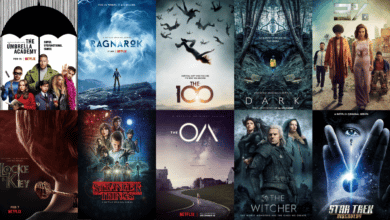 top meilleures series science fiction fantastique netflix