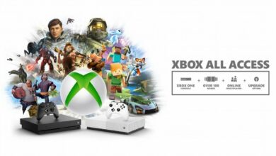 Photo de Xbox All Access avec une Xbox Series X dans le lot