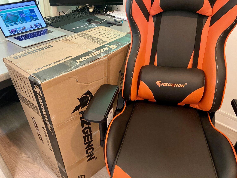 AZGENON Z300 test chaise gaming carton