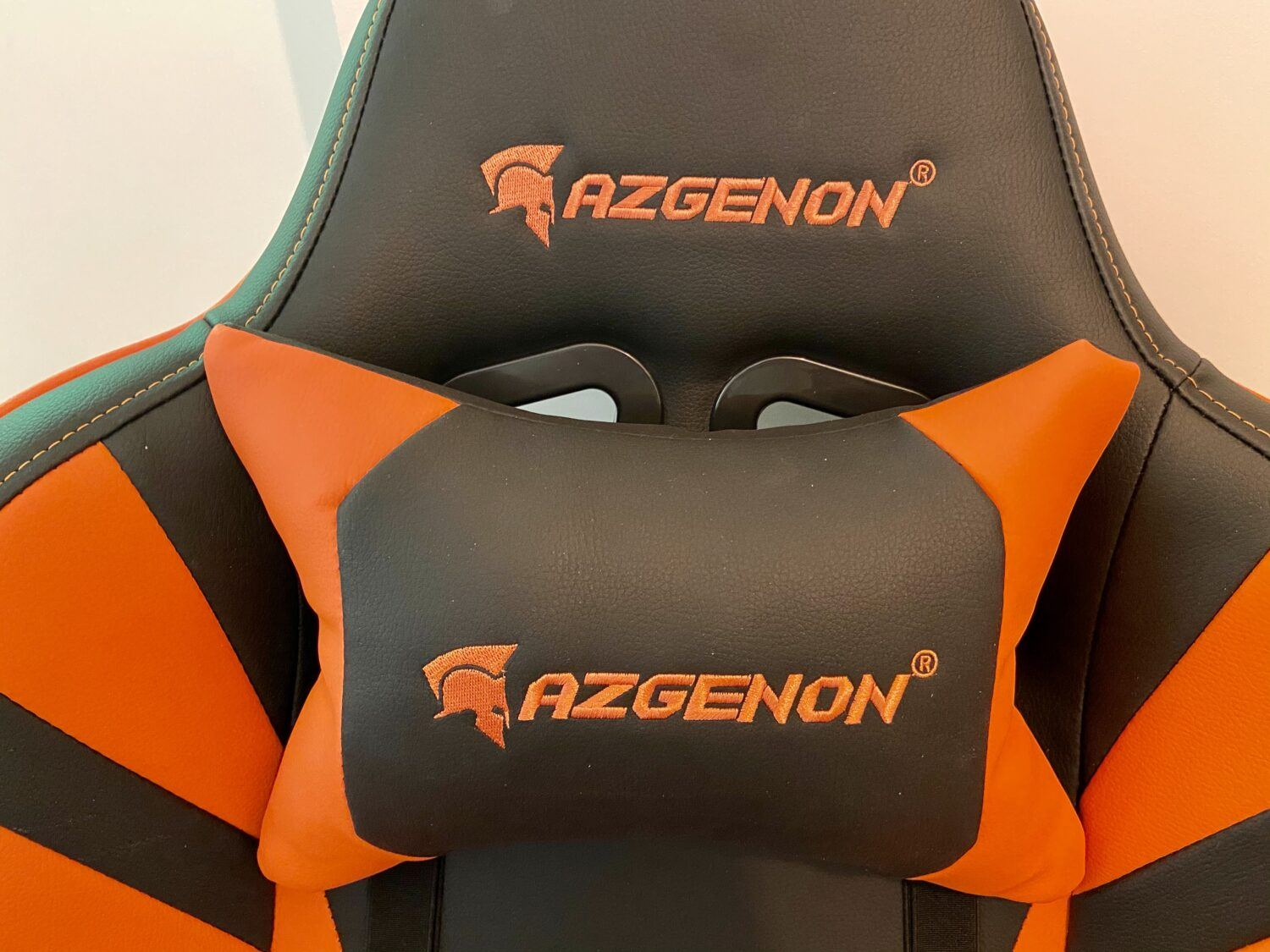 AZGENON Z300 test chaise gaming coussin nuque
